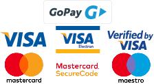 Platba platobnou kartou alebo dobierkou.