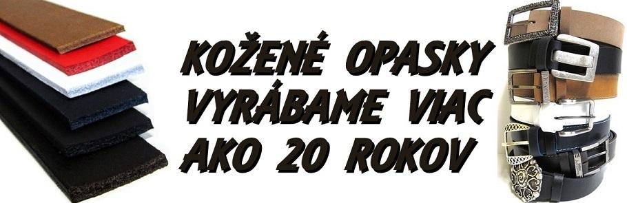 9a997b275e Opasky v najväčšom e-shope špecializovanom na kožené opasky slovenskej  výroby a športové opasky z ulice. Ručná výroba opaskov s 20 ročnou  tradíciou.